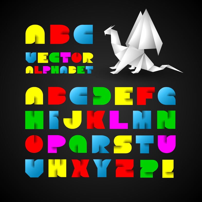creative alphabet letters - 831×831