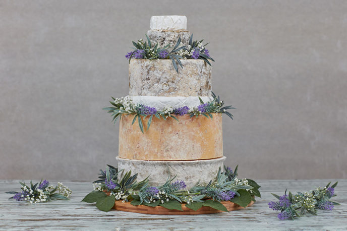 Conwy Cheese Wedding Cake   The Welsh Cheese Company Conwy Cheese Wedding Cake