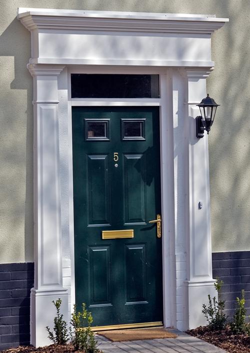 Door Pilasters Amp 3 In X 9 In X 90 In Polyurethane