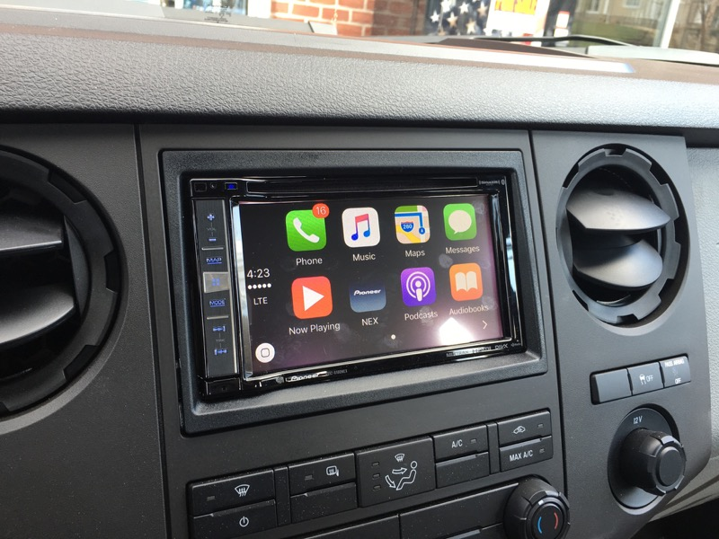 Ford F250 Stereo Upgrade