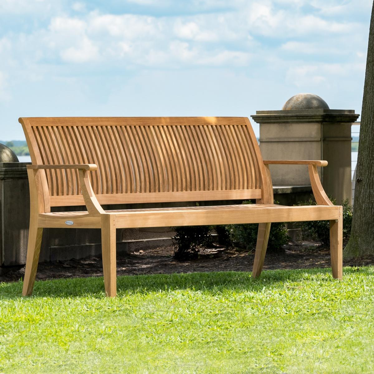 Laguna Teak Outdoor Bench 5 Ft Commercial Grade