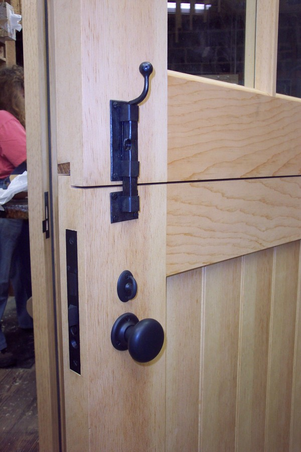 Custom Designed Doors For Log Home