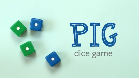 Pig Dice Game  6 Different Ways to Play How to play pig dice game