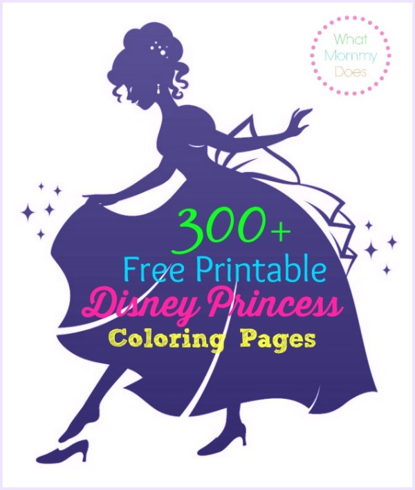 printable disney princess coloring pages # 20