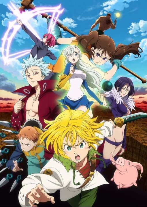The Seven Deadly Sins Returns to Netflix in 2018 - What's ...