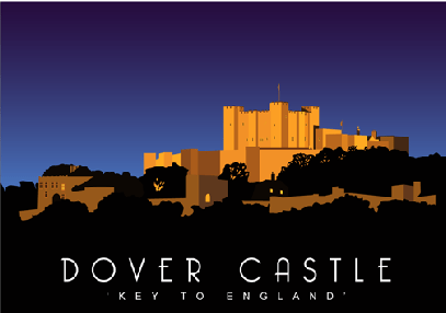 Dover Castle Night