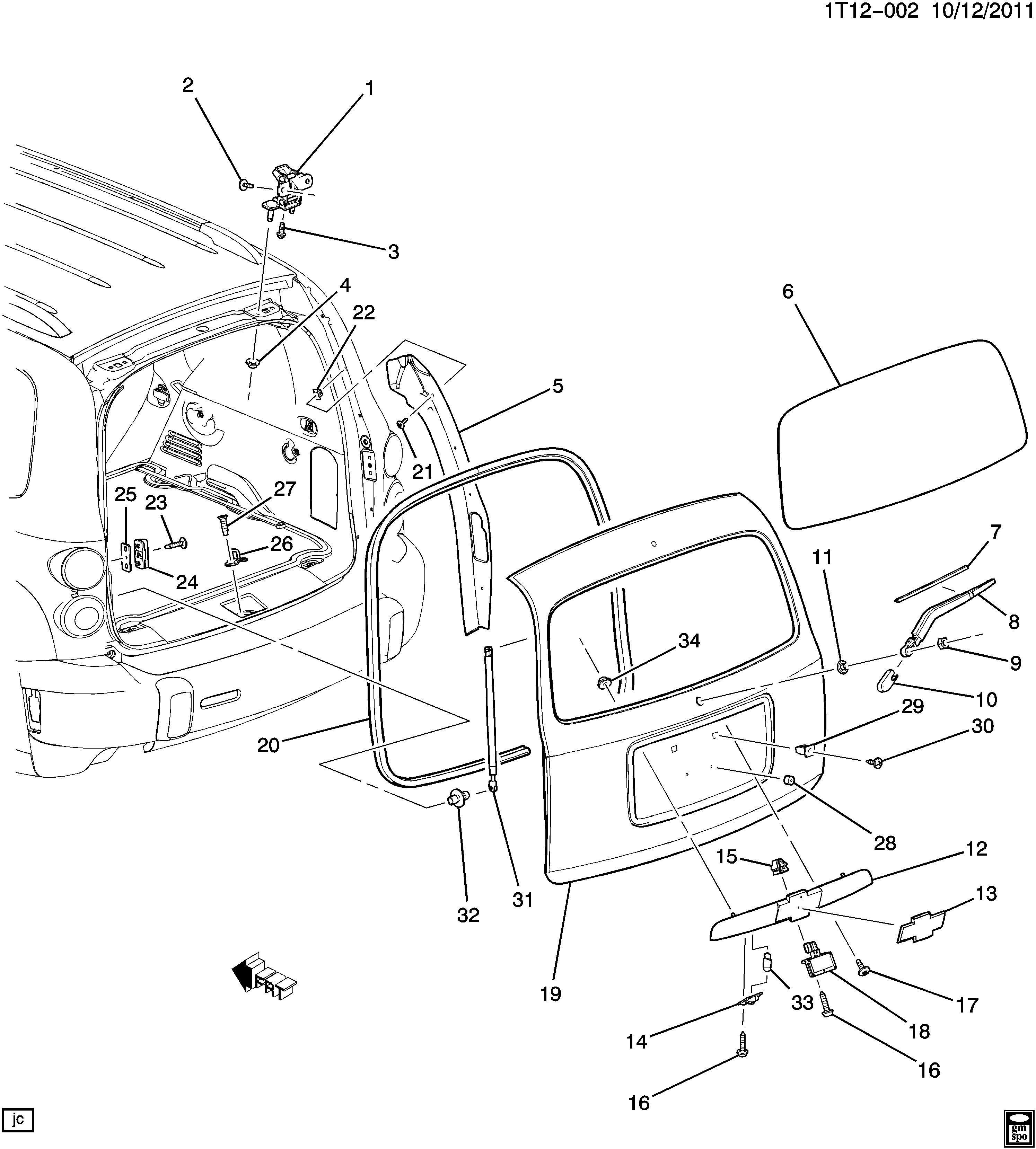 Chevy hhr parts diagram free download wiring diagrams