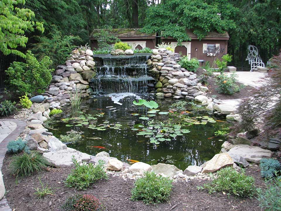 Small Garden Pond Fountains