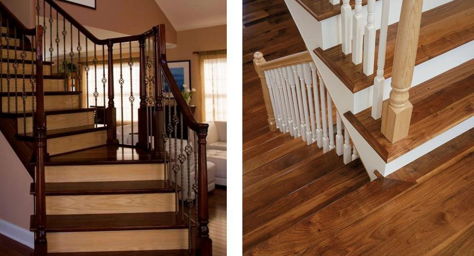 Design Ideas For Stairs To Match Your Custom Hardwood Floors   Matching Stairs To Hardwood Floors   Laminate Flooring   Refinishing Hardwood   Stain   Staircase   Wide Plank