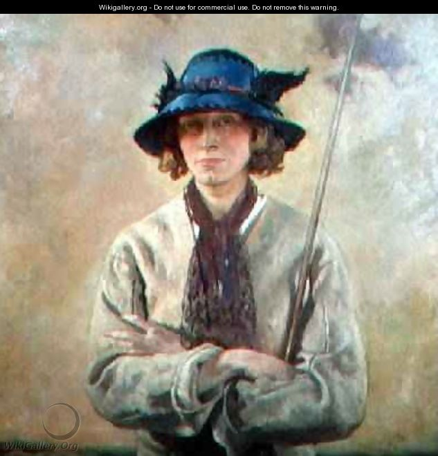 The Angler - Sir William Newenham Montague Orpen ...