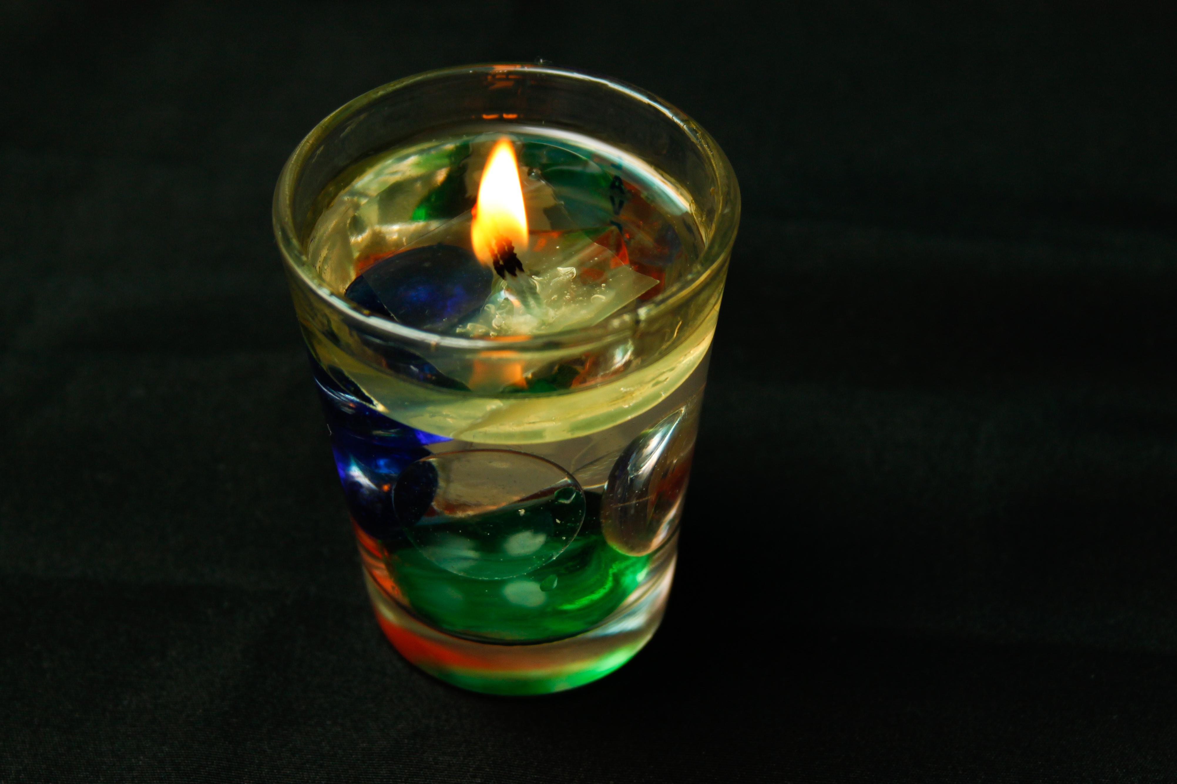 Candel Ligths Water