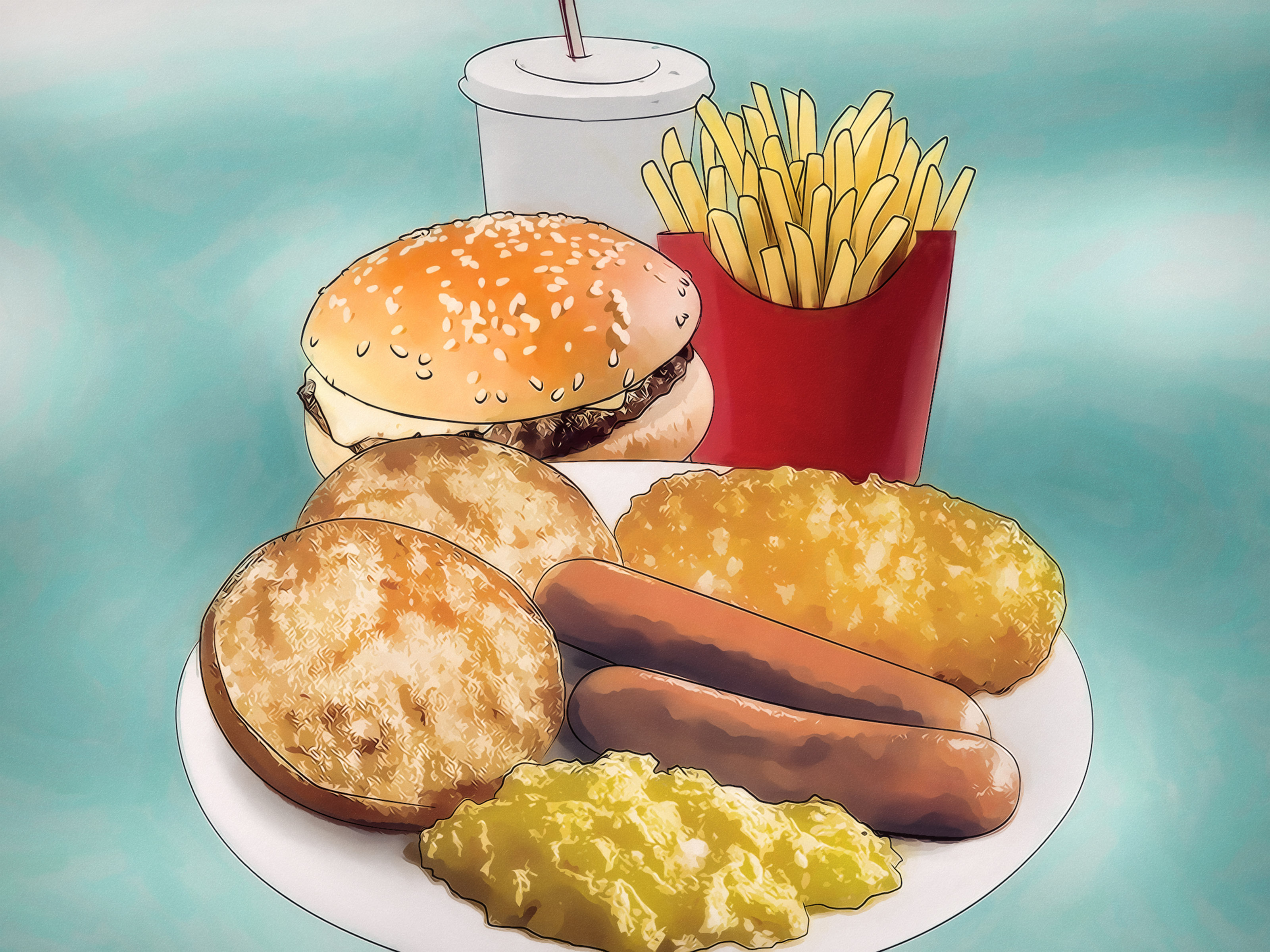 3 Ways To Eat Cheaply At A Fast Food Restaurant Wikihow