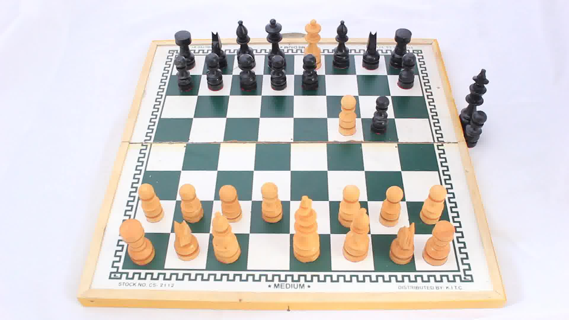 Chess Four Move Checkmate Diagram