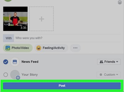 3 Ways to Post a YouTube Video on Facebook - wikiHow