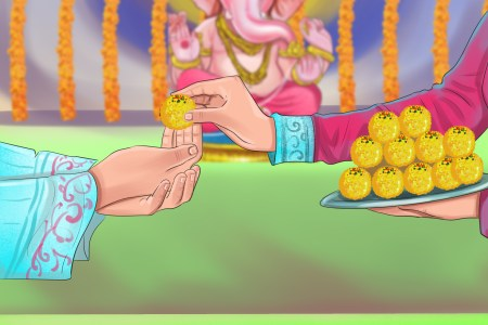 How to Worship and Pray to the Hindu God Ganesh   wikiHow