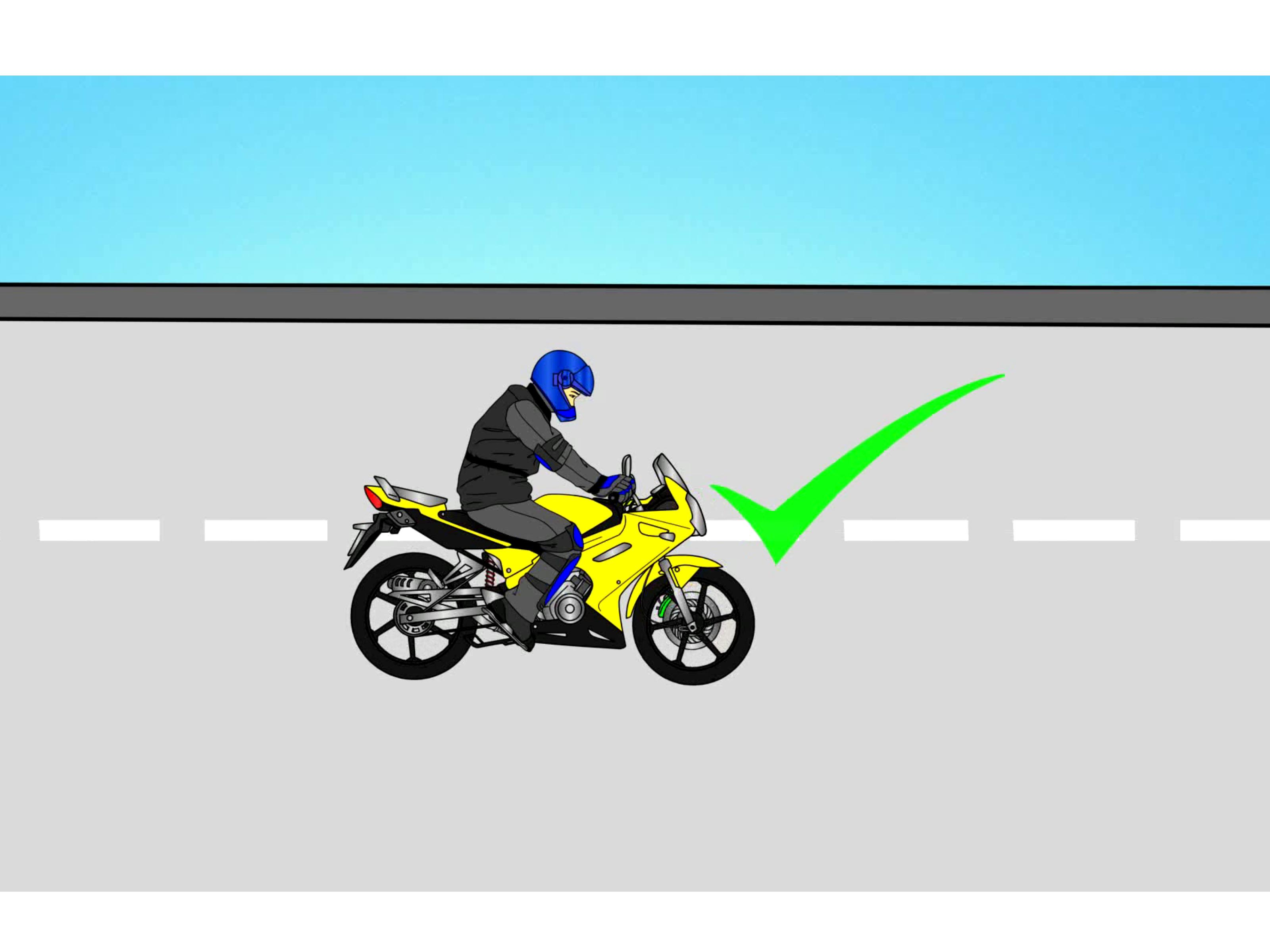 Learning Turn Motorcycle