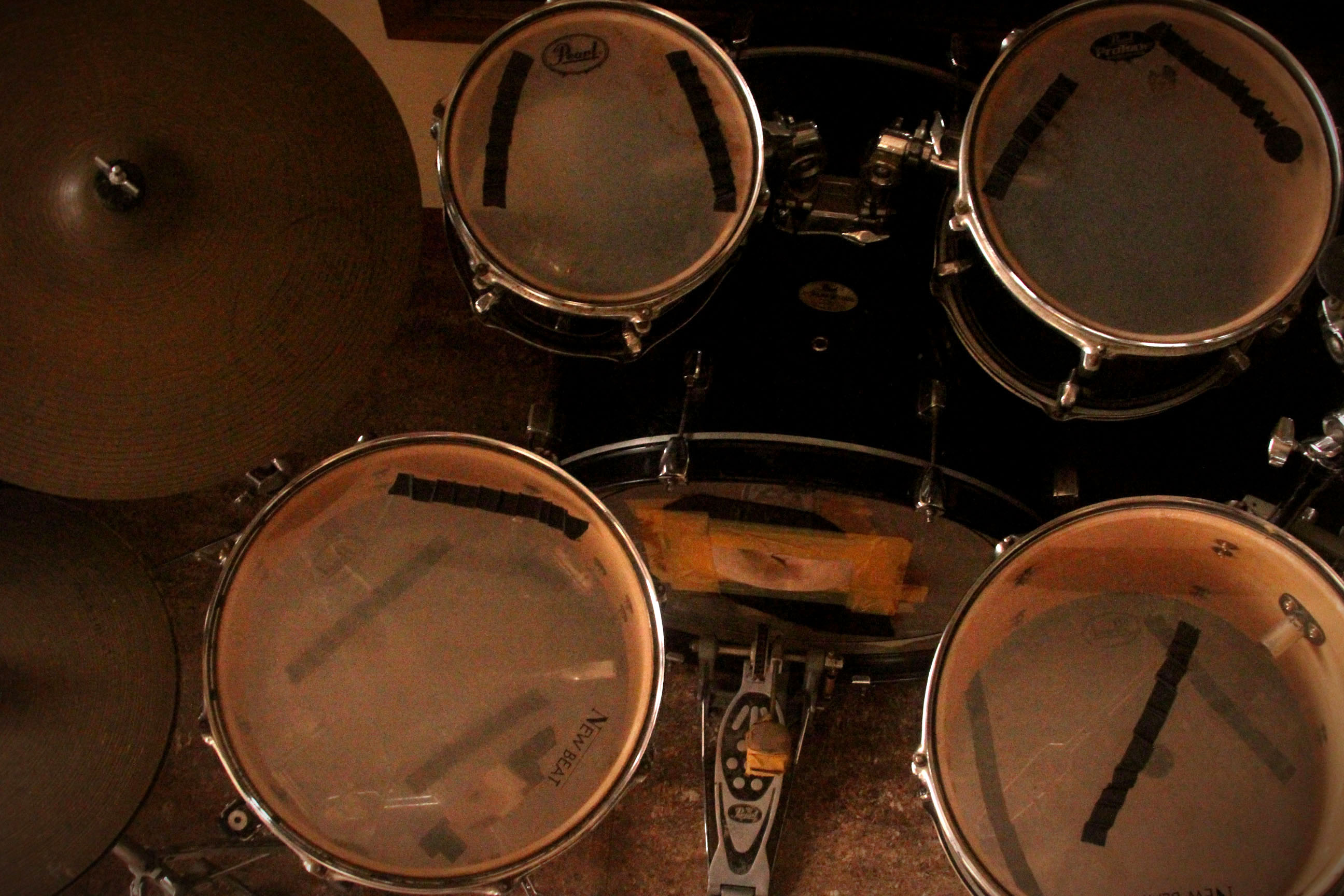 How to Understand the Parts of a Drum Set  6 Steps  with Pictures