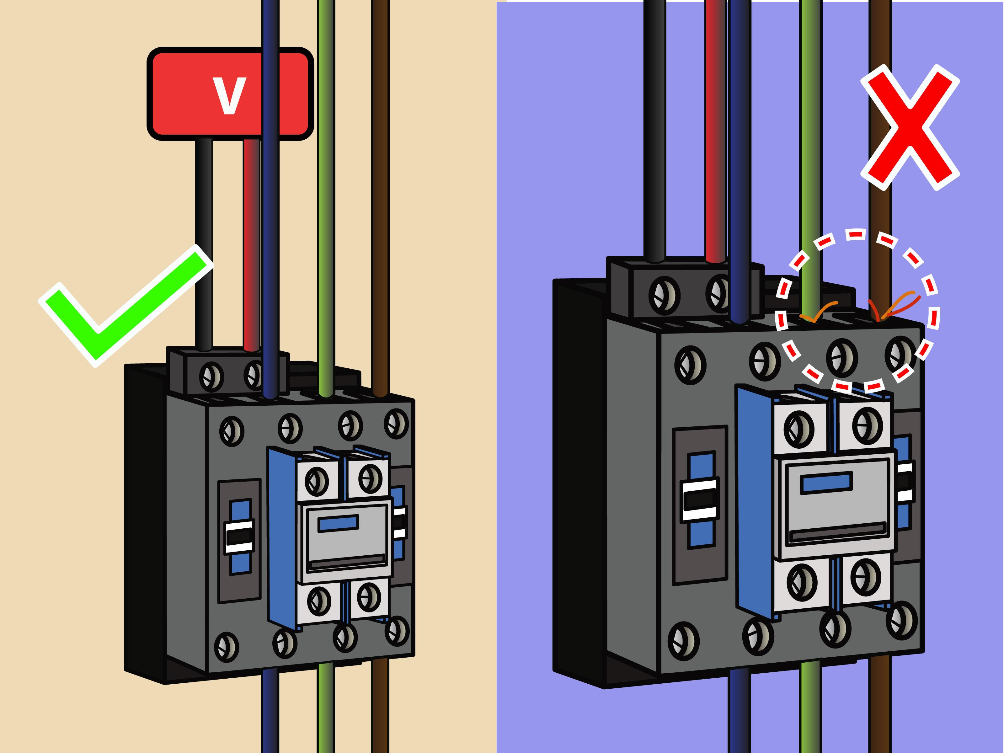 Double Pole Line Voltage Thermostat