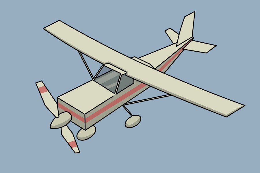 How to Draw a Plane   wikiHow