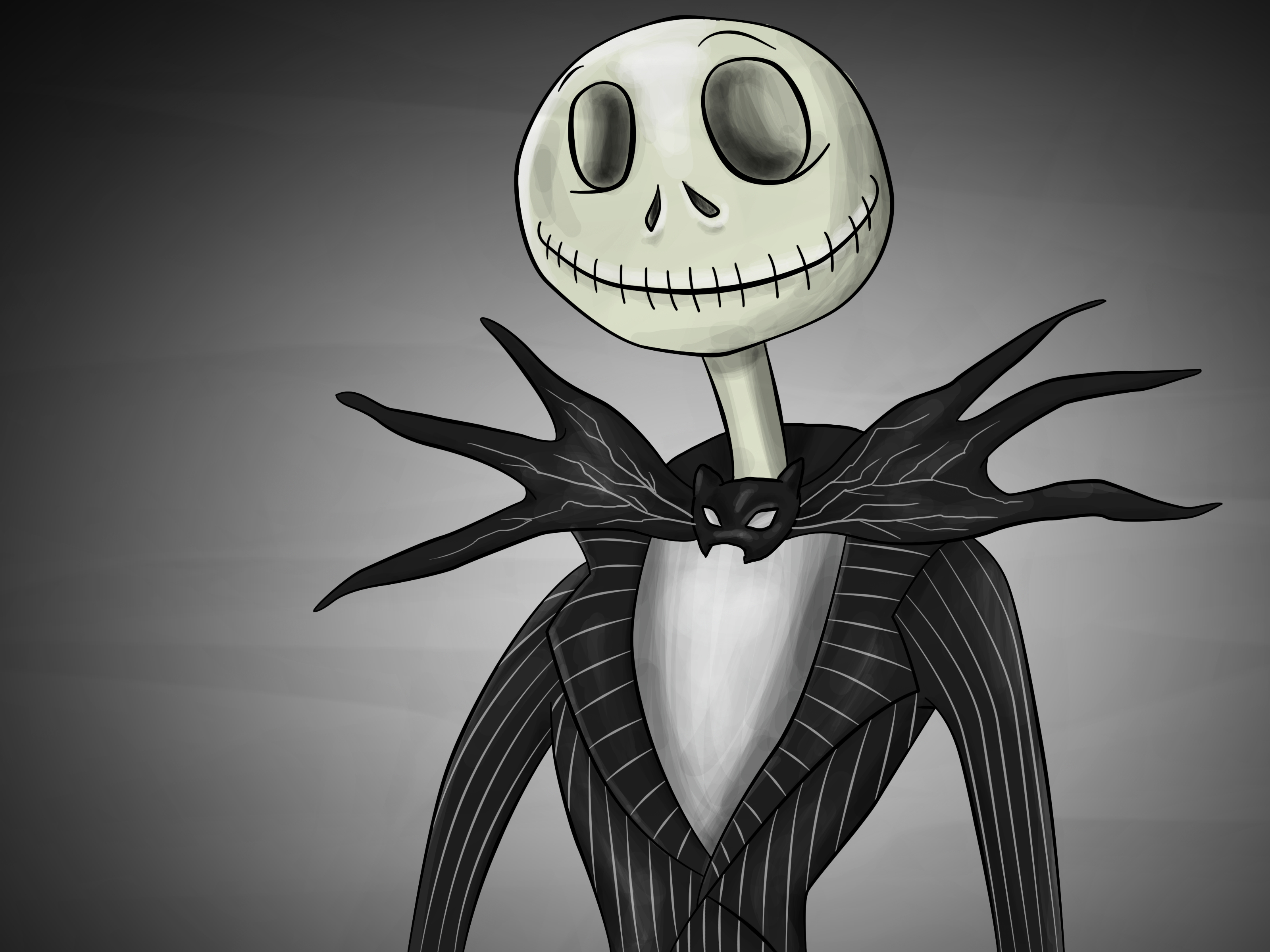 How to Draw Jack Skellington: 11 Steps (with Pictures ...