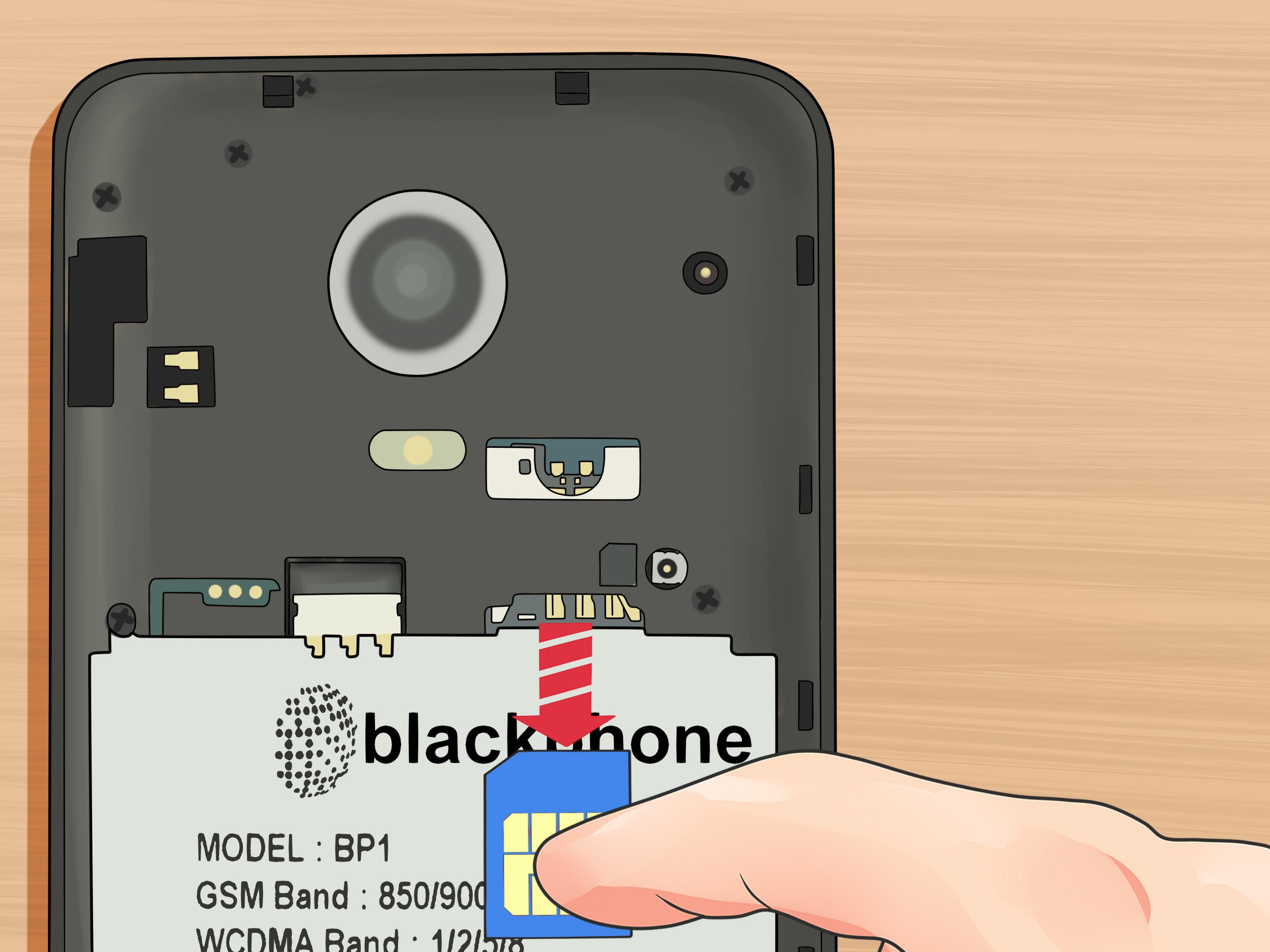 Changing Card 4 Sim Iphone