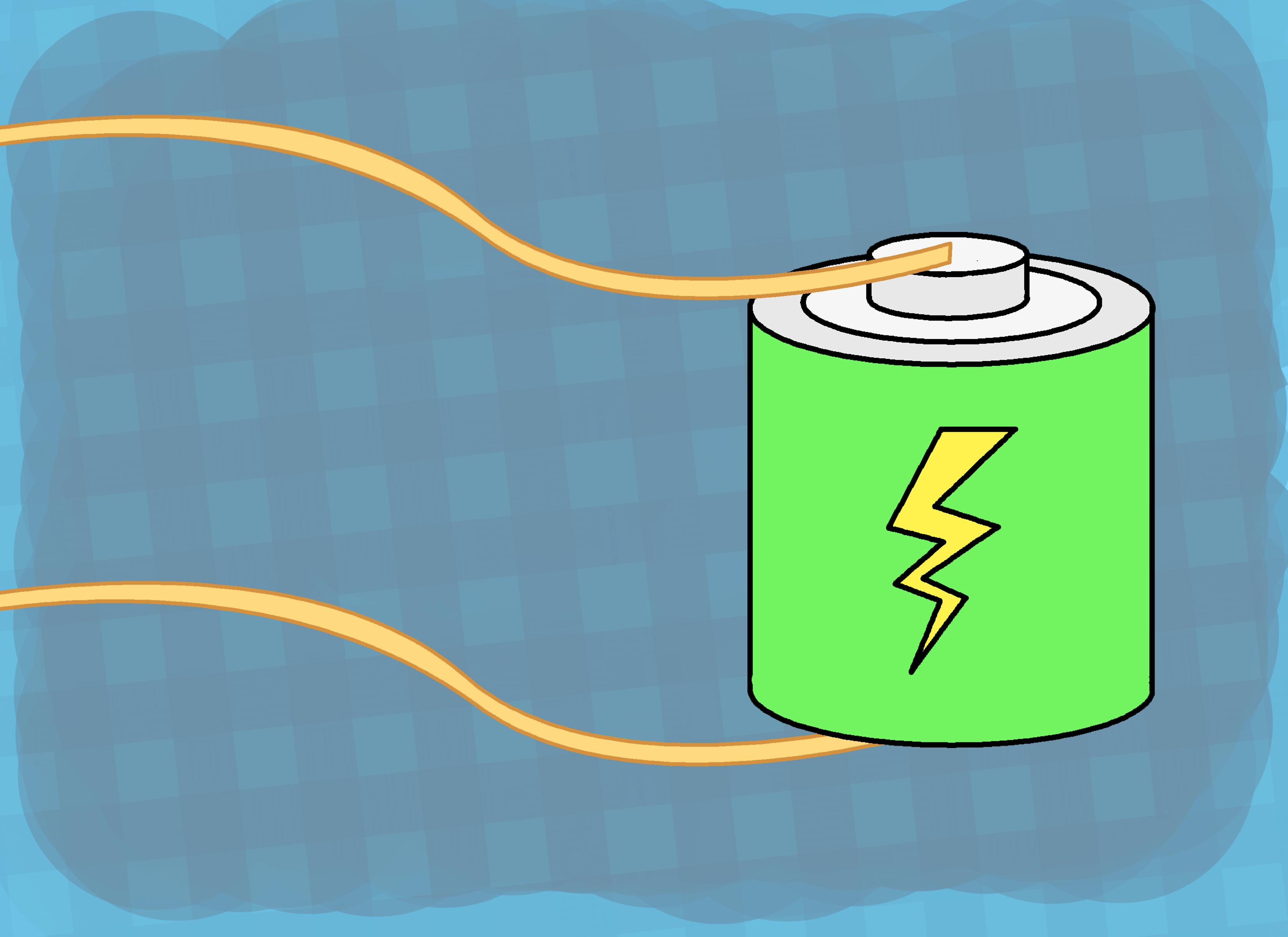 Battery Electrolysis Experiment