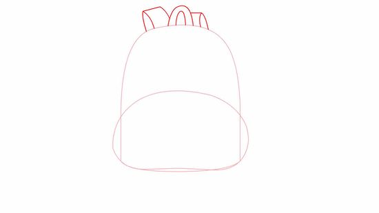 How to draw a backpack | bbqpr.com