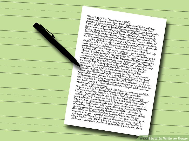 How to Write an Essay  with Pictures    wikiHow Image titled Write an Essay Step 5