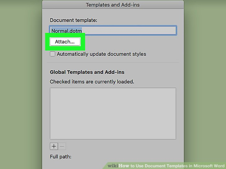 6 Ways to Use Document Templates in Microsoft Word   wikiHow Image titled Use Document Templates in Microsoft Word Step 31