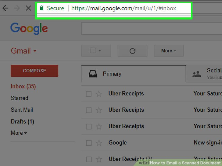 How to Email a Scanned Document  8 Steps  with Pictures    wikiHow Image titled Email a Scanned Document Step 2