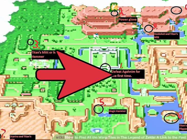 A Link To The Past Dark World Map.Map Zelda Link Past World Dark