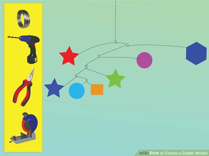 How To Create A Calder Mobile 9 Steps With Pictures