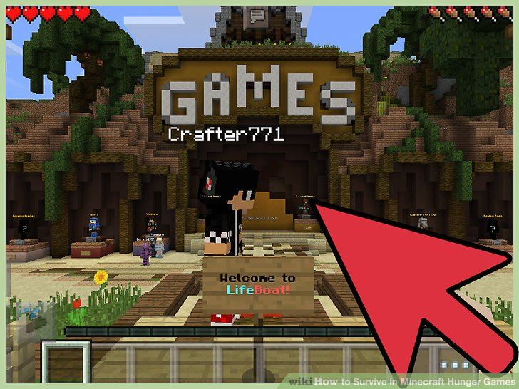 How to Survive in Minecraft Hunger Games  10 Steps  with Pictures  Image titled Survive in Minecraft Hunger Games Step 4