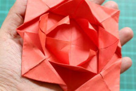 Origami flower step by step beautiful flowers 2018 beautiful flowers diy origami flower tutorial hungry heart diy origami flower tutorial origami paper flower ball tutorial ozil almanoof co step by step kusudama flower ball mightylinksfo