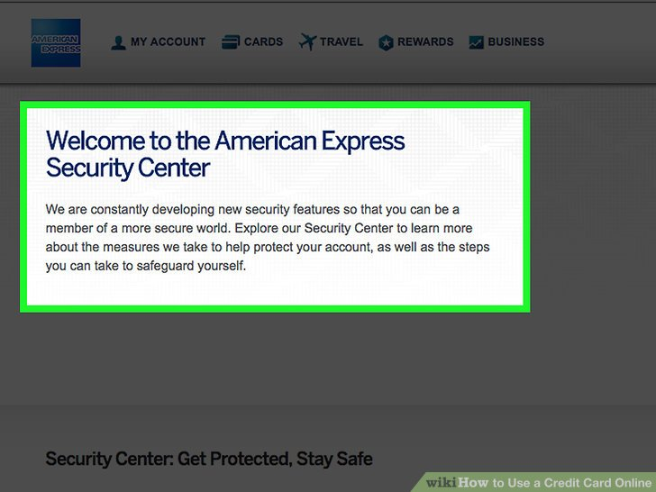 Security Bank Credit Card Online Account