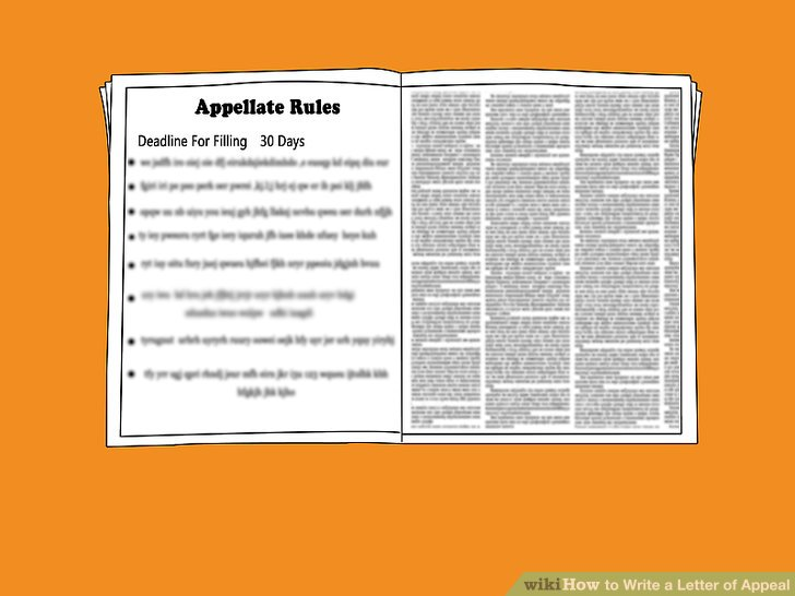 How to Write a Letter of Appeal: 12 Steps (with Pictures)