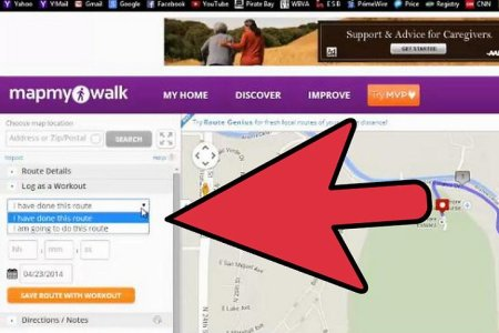 Online Interactive Map Wallpapers Map A Walk Route - Map my walk online
