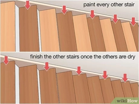 4 Ways To Replace Stair Treads Wikihow   Oak Replacement Stair Treads   Stringer   Stair Stringers   Risers   Wood Stair   White Oak