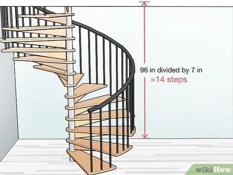 How To Build Spiral Stairs 15 Steps With Pictures Wikihow   Spiral Staircase Near Me   Steel   Staircase Kits   Handyman Services   Handy Guy   Metal