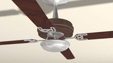 How to Install a Light on a Ceiling Fan  11 Steps  with Pictures  2
