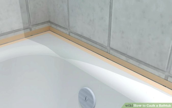 How to Caulk a Bathtub  14 Steps   wikiHow Image titled Caulk a Bathtub Step 3