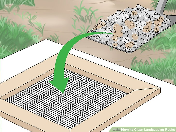 How Clean Leaves Out Rocks