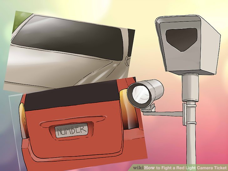 How to Fight a Red Light Camera Ticket (with Pictures ...