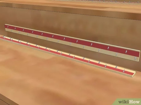 How To Carpet Stairs With Pictures Wikihow   Stick On Carpet For Stairs   Rugs   Flooring   Carpet Tiles   Stair Runner   Anti Slip