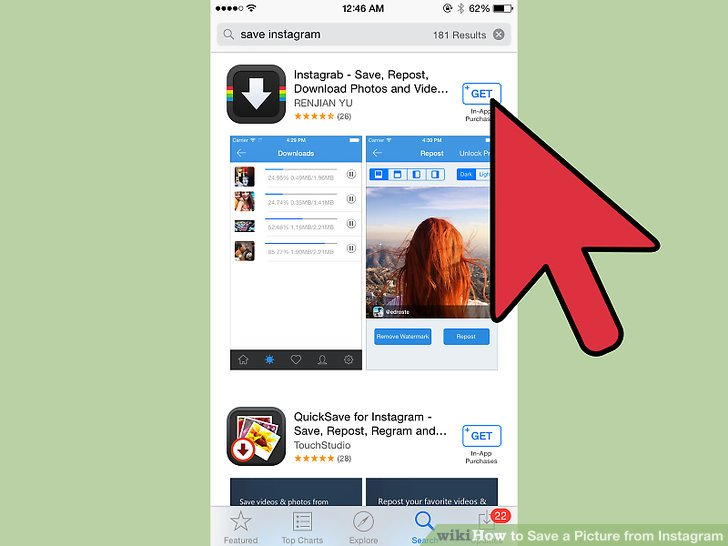 3 Ways to Save a Picture from Instagram - wikiHow