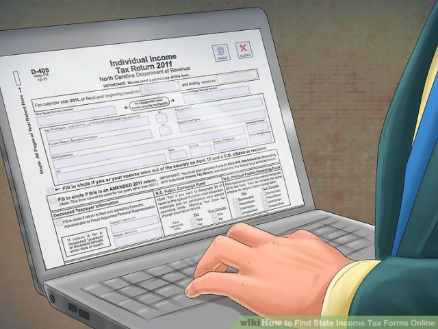 4 Ways to Find State Income Tax Forms Online   wikiHow Image titled Find State Income Tax Forms Online Step 9