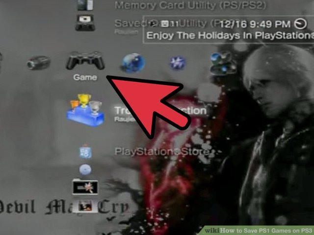 How to Save PS1 Games on PS3  6 Steps  with Pictures    wikiHow Image titled Save PS1 Games on PS3 Step 1