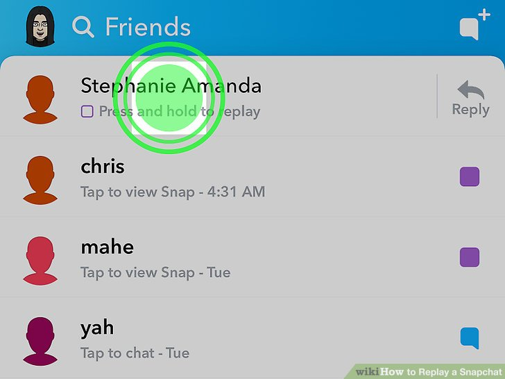 How to Replay a Snapchat: 6 Steps (with Pictures) - wikiHow