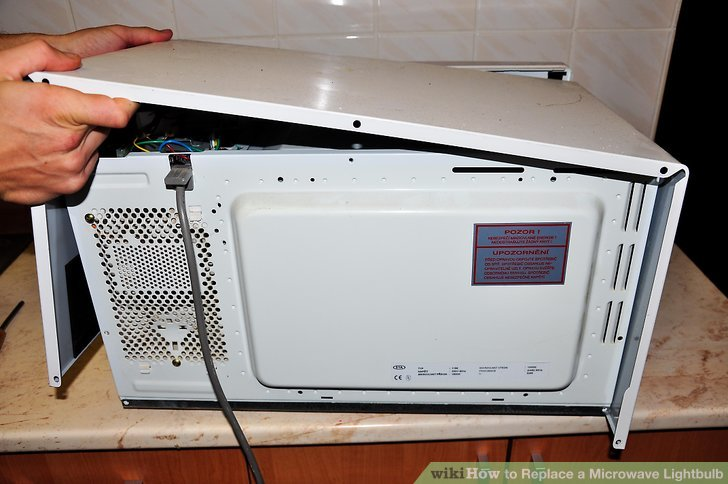 Change Light Bulb Microwave