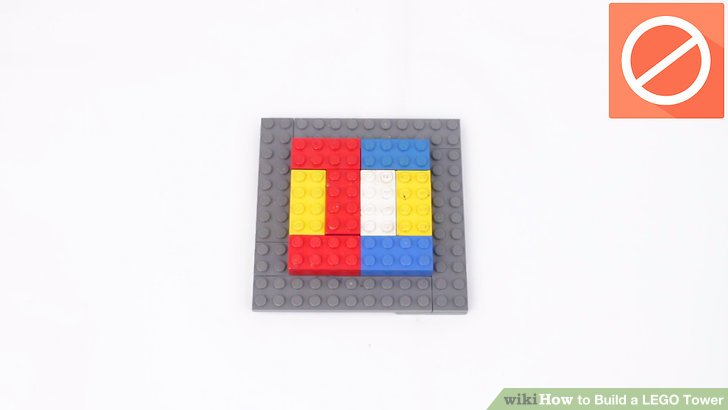 How to Build a LEGO Tower  11 Steps  with Pictures    wikiHow Image titled Build a LEGO Tower Step 5